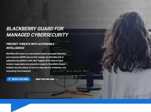BlackBerry Guard 2.0: