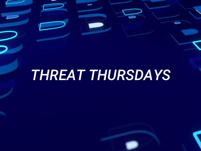 Threat Thursday: Redline Infostealer