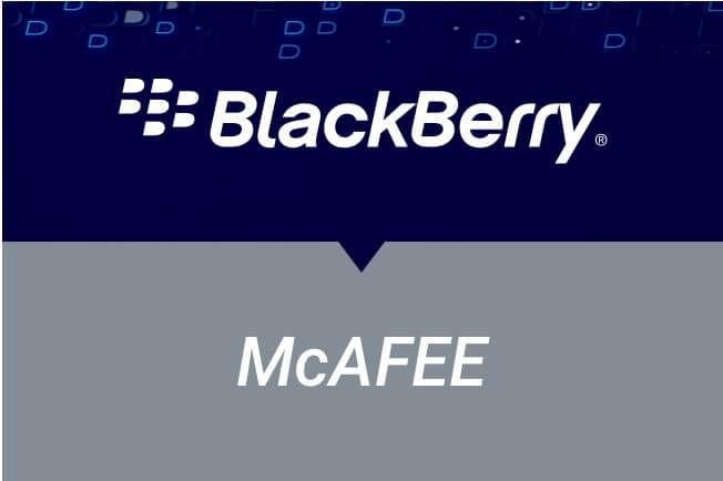 BlackBerry vs. McAfee