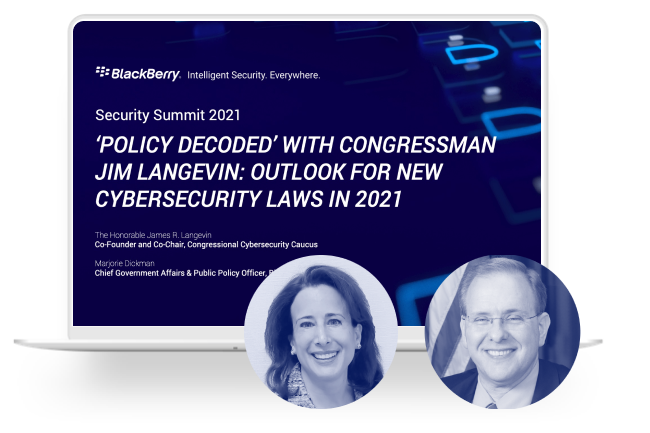 """'Policy Decoded"""" With Congressman Jim Langevin: Outlook For New Cybersecurity Laws in 2021"""