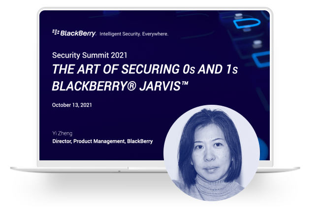 The Art of Securing 0s And 1s – BlackBerry Jarvis