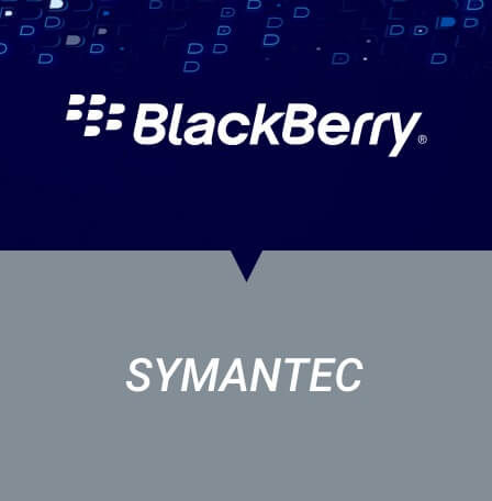 BlackBerry  vs. Symantec