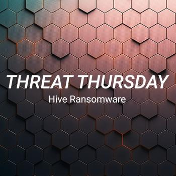 Hive ランサムウェアにご用心